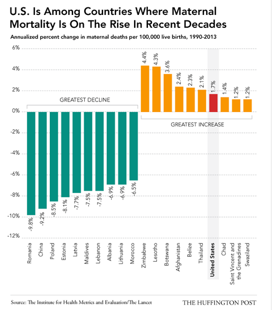 Maternal Mortality USA