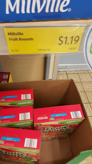 The Price Of Fruit Rounds at Aldi